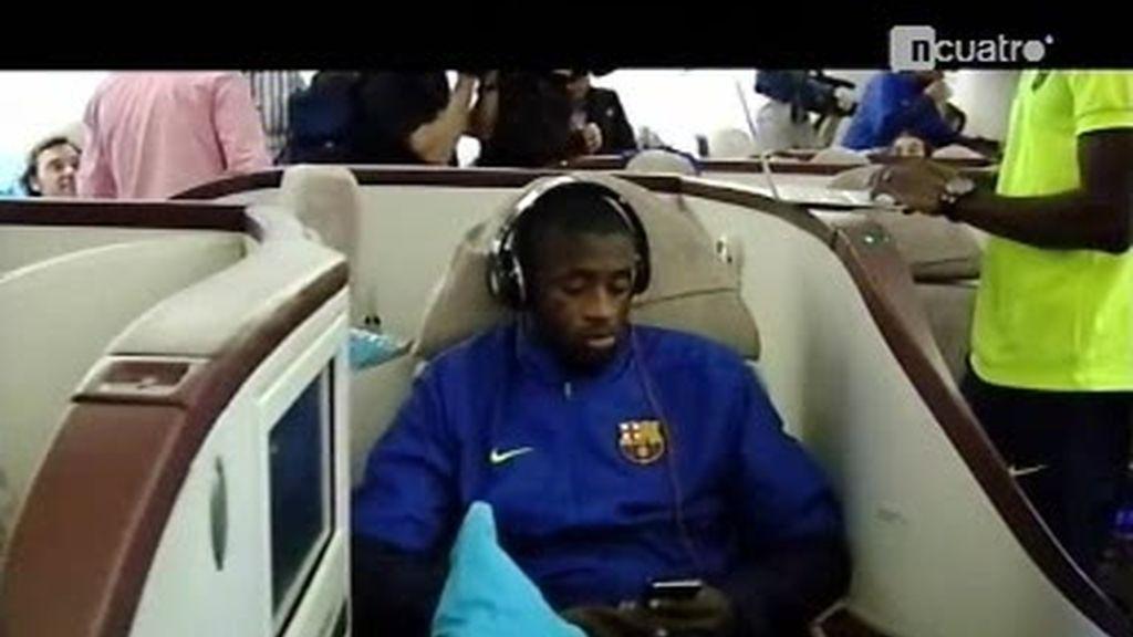 Viajar en 'business Barça'