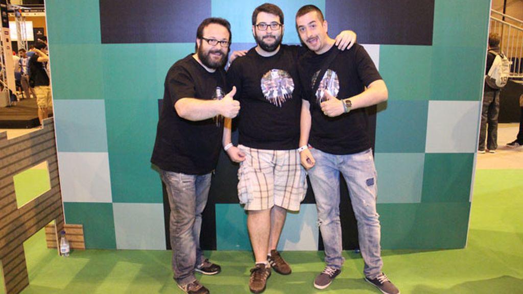Chincheto77, Tonacho y Alexelcapo, los 'youtubers' que forman L3TCraft