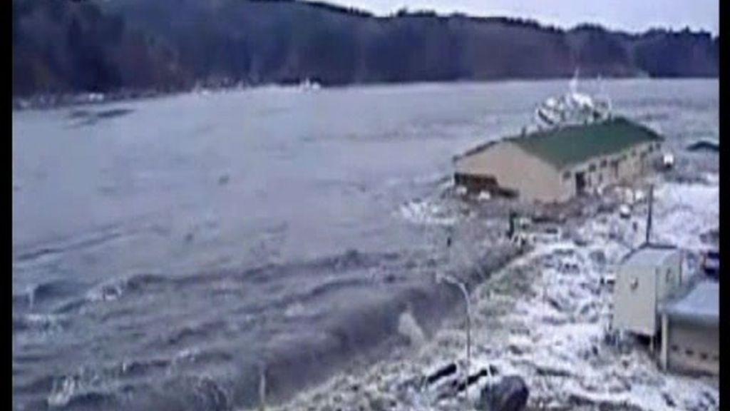 Imágenes inéditas del tsunami