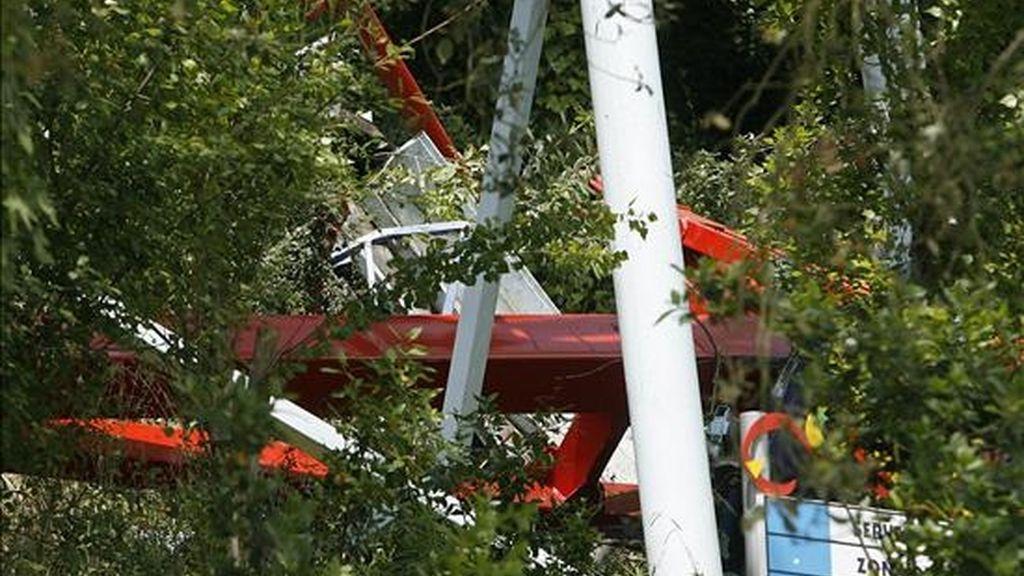 El Tibidabo vuelve a la normalidad tras el accidente del pasado sábado. Vídeo: Informativos Telecinco.