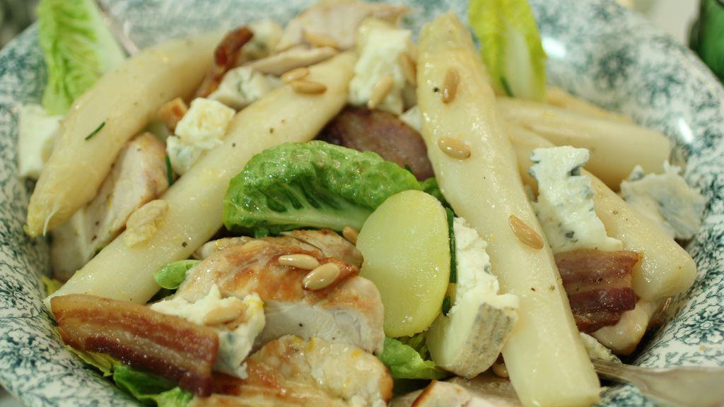 Ensalada de pollo con espárragos de 'Robin Food'