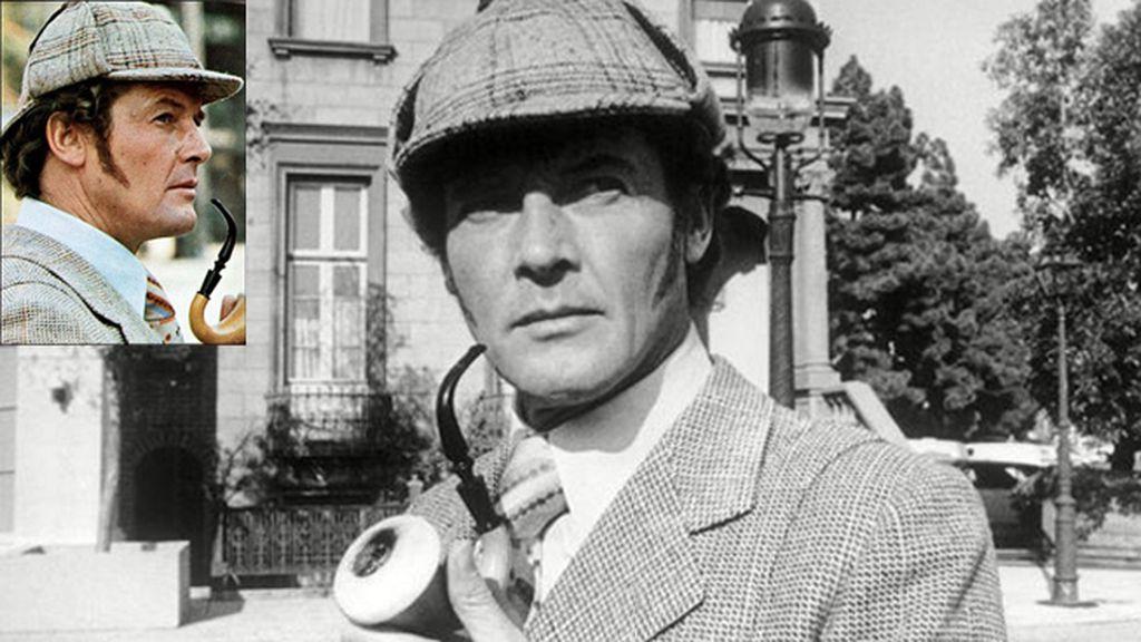 Roger Moore, un Sherlock al servicio de Su Majestad
