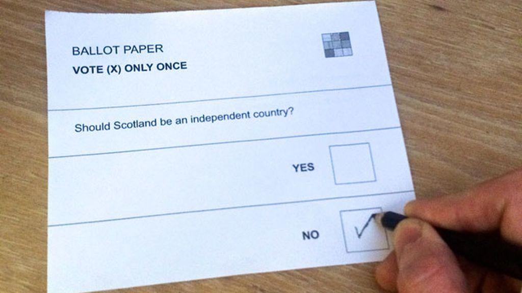 Los escoceses deciden su futuro en las urnas