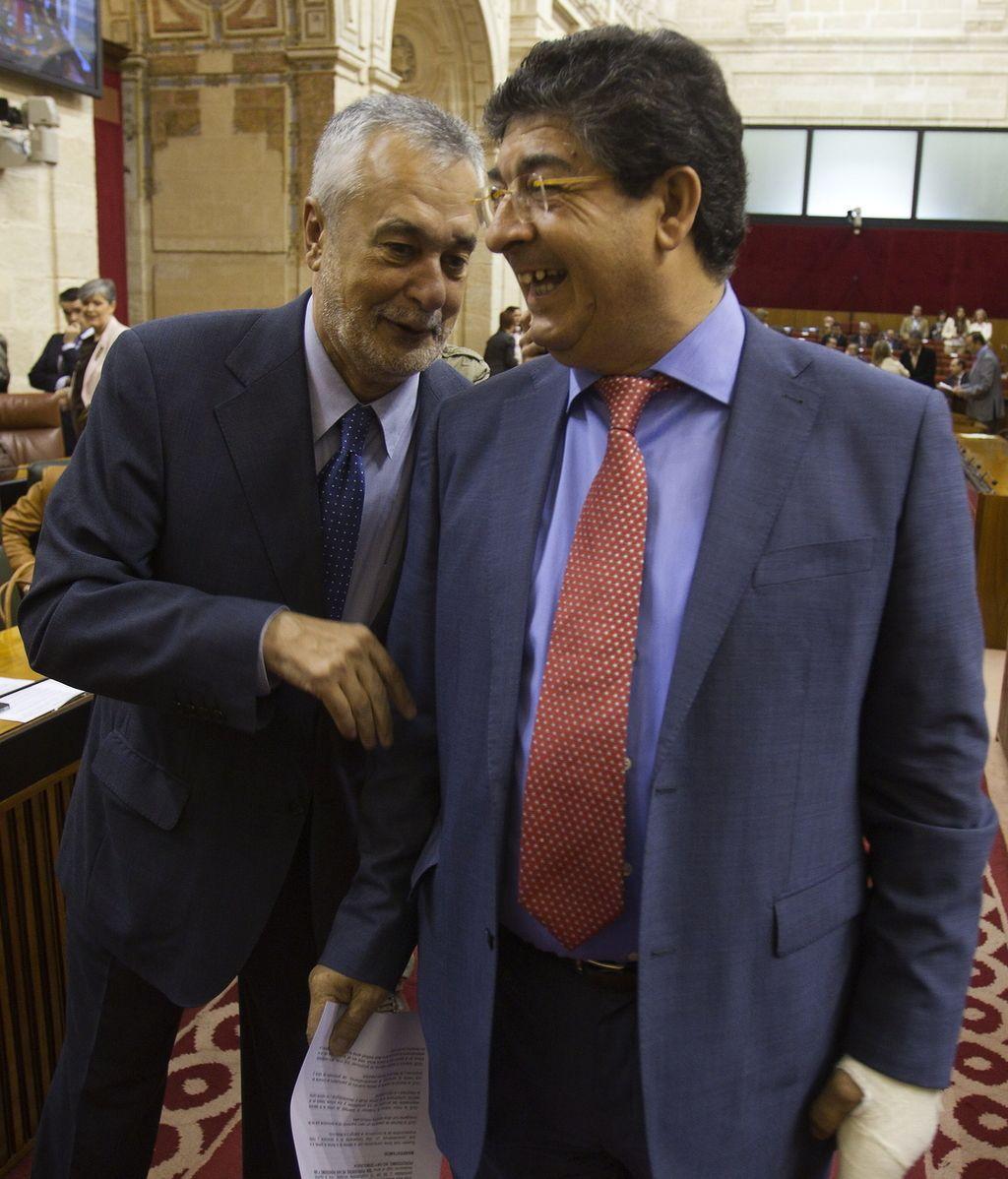 José Antonio Griñán y Diego Valderas