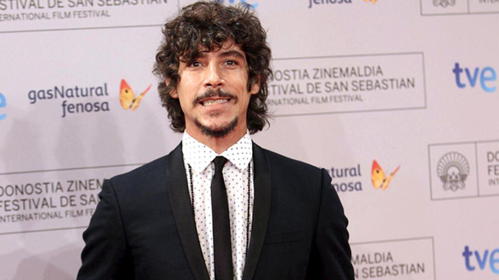 Óscar Jaenada en la gala inaugural del Festival de Cine de San Sebastián