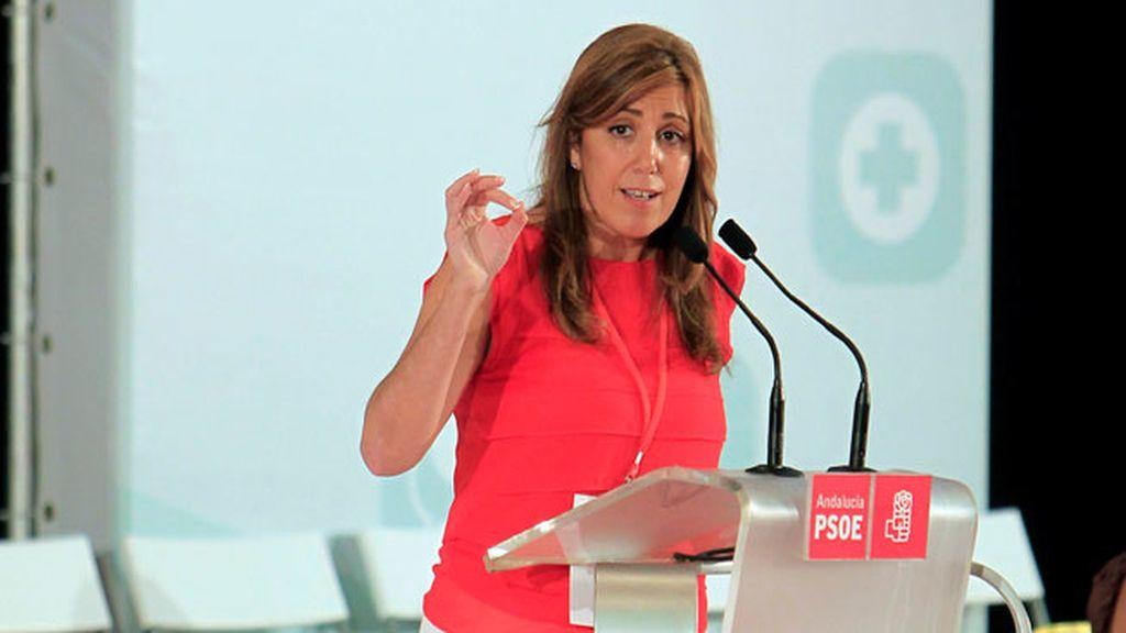 Susana Díaz, nueva secretaria general del PSOE de Sevilla