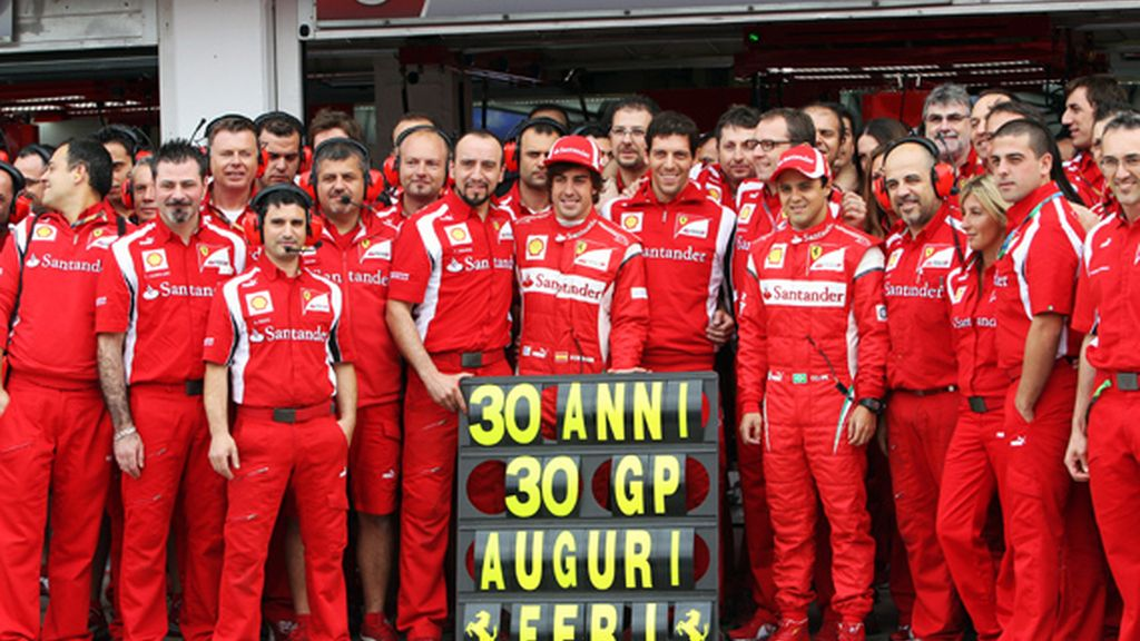 Alonso celebra su 30 cumpleaños en el GP de Hungría 