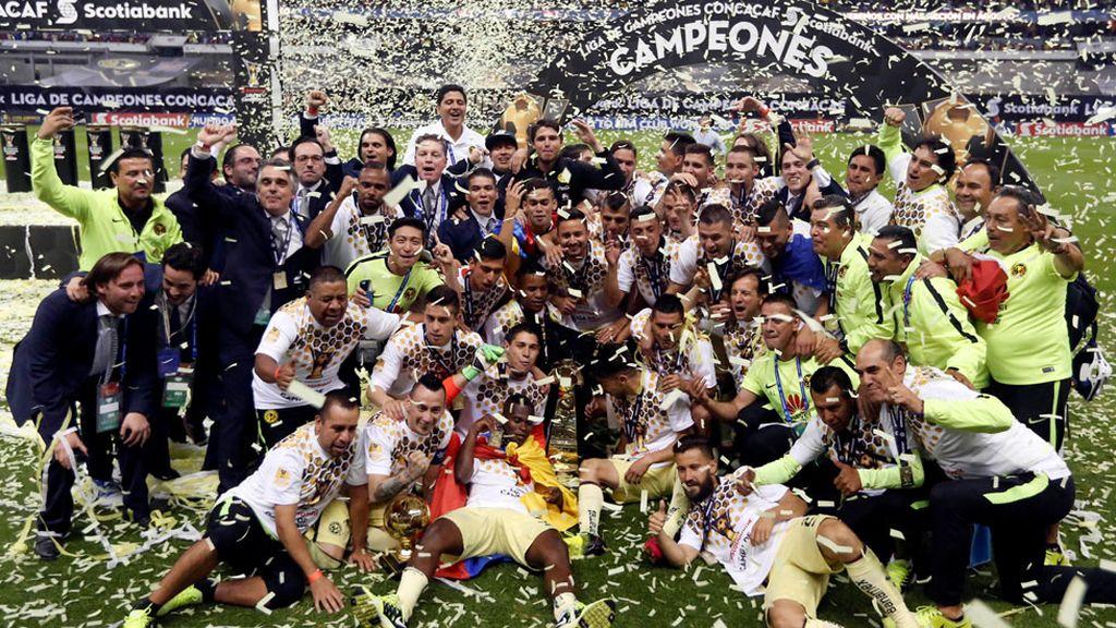 América se convierte en bicampeón de la Concacaf (28/04/2016)