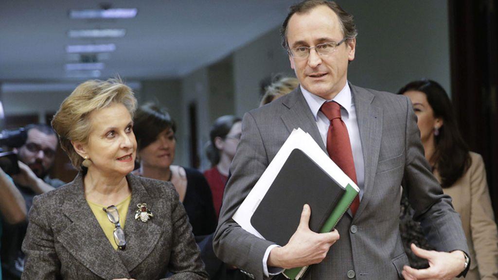 Alfonso Alonso da explicaciones en el Congreso sobre la reforma del aborto
