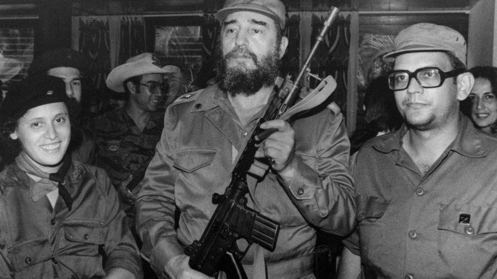 Un joven Fidel Castro