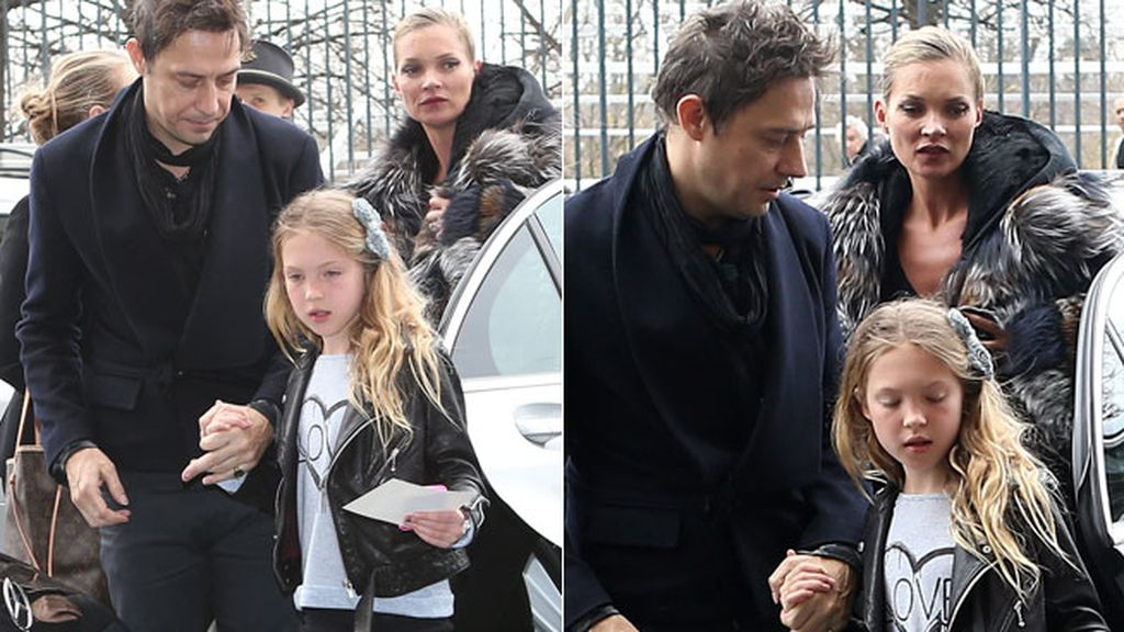 Jamie Hince, todo un padrazo con la hija de su chica