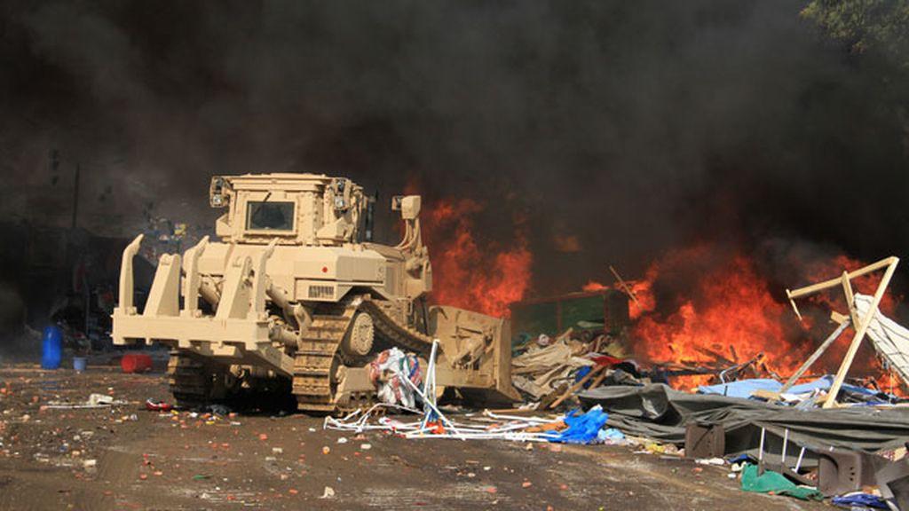 Las Fuerzas de Seguridad egipcias