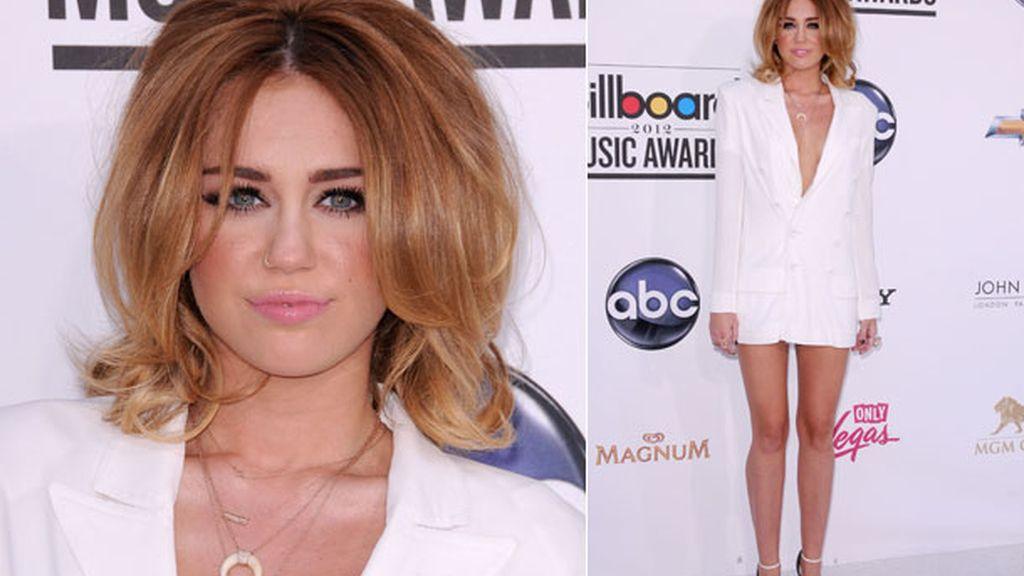 Melena con volumen para la entrega de los premios 'Billboard' 2012