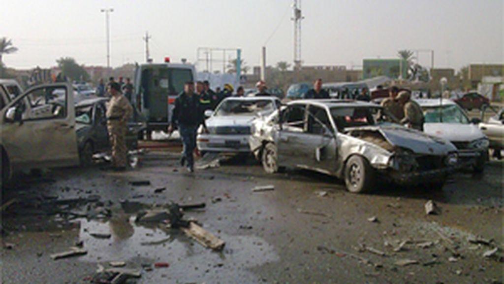 Mueren 17 personas a causa un doble atentado suicida en Irak