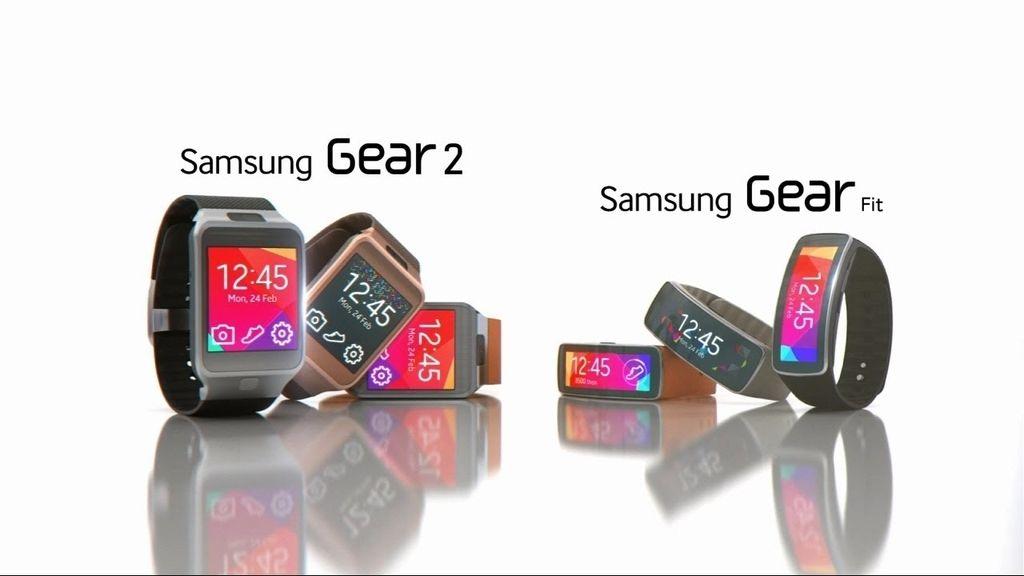 Gear Samsung, Samsung Gear, relojes inteligentes, Samsung