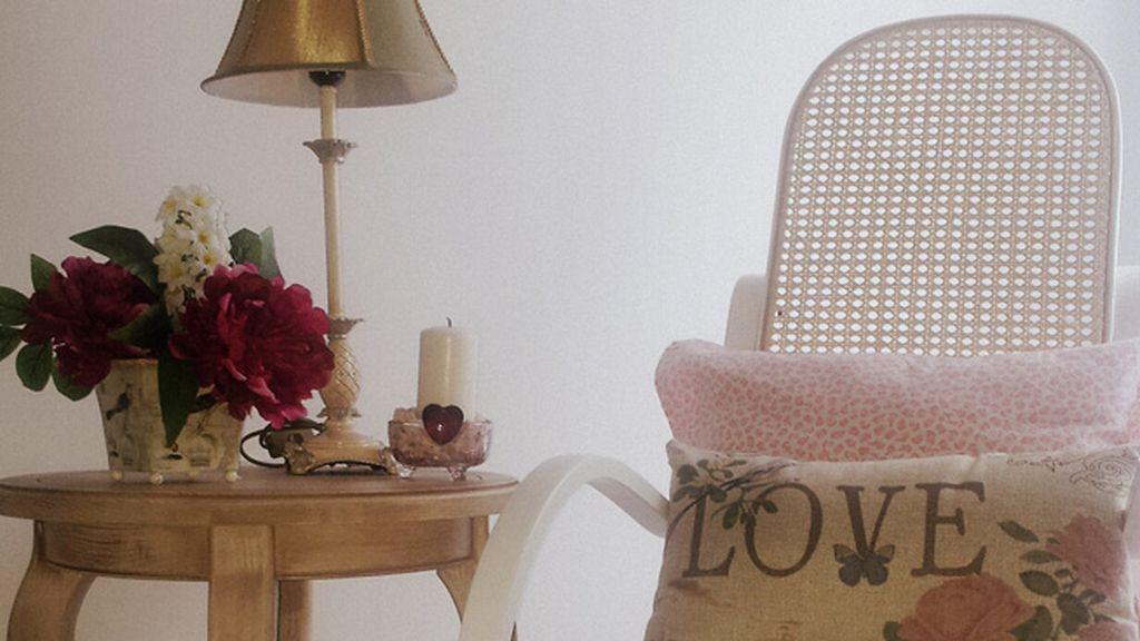 Cristina Soriano escoge este romántico rincón de su casa como su 'punto d'