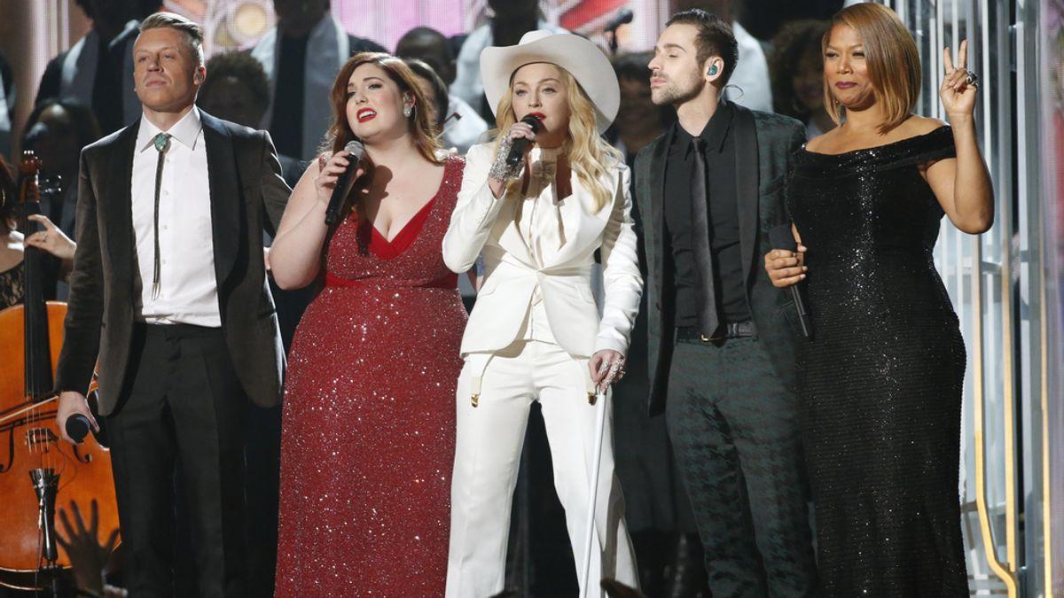Macklemore, Mary Lambert, Madonna, Ryan Lewis y Queen Latifah