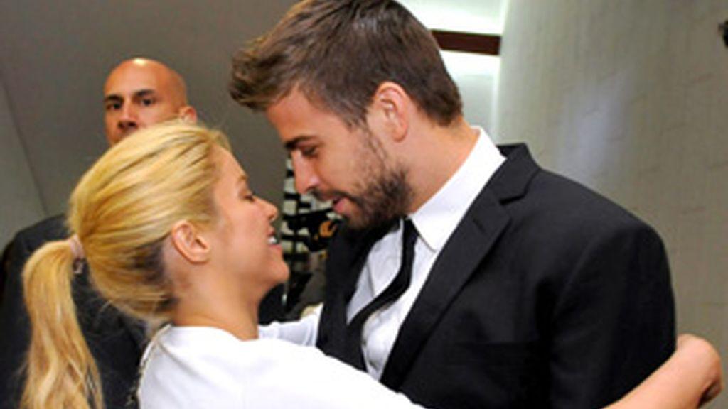 Shakira y Piqué en el inicio de sus vacaciones en Jerusalén FOTO: GTRES