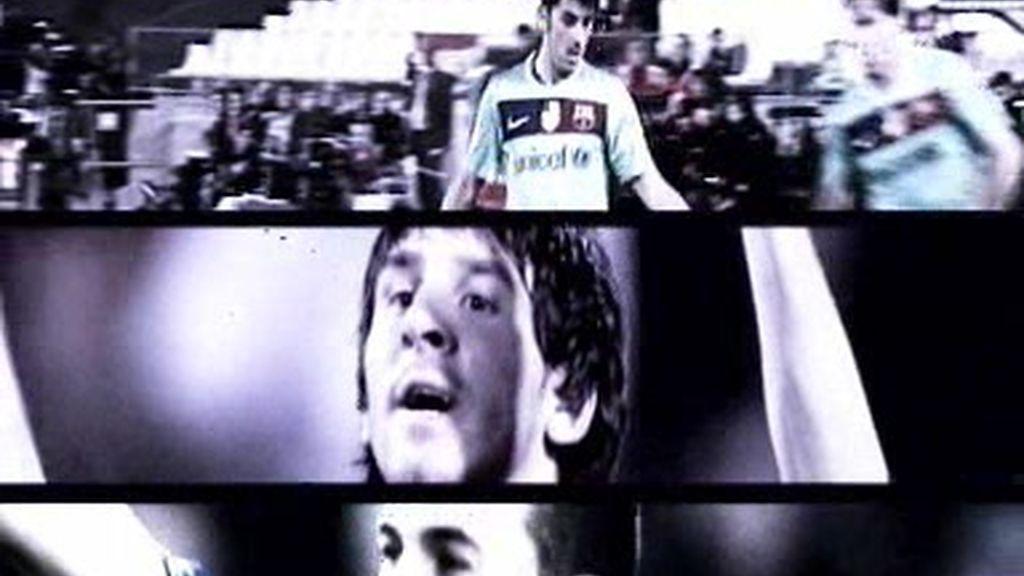Messi, Villa y Pedrito, el MVP del Barcelona