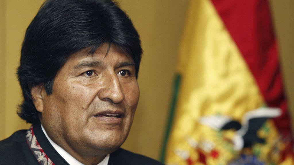 Evo Morales da por cerrada la crisis diplomática con España por la retención de su avión