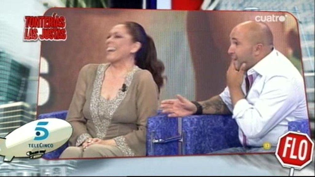 La Pantoja en Telecinco