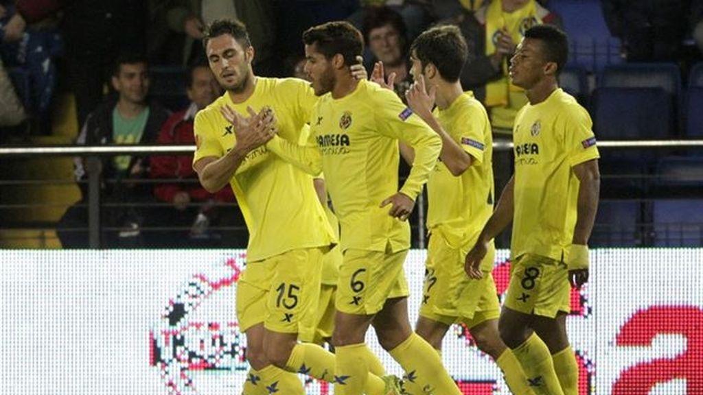 El Villarreal choca con el 'Gladbach'