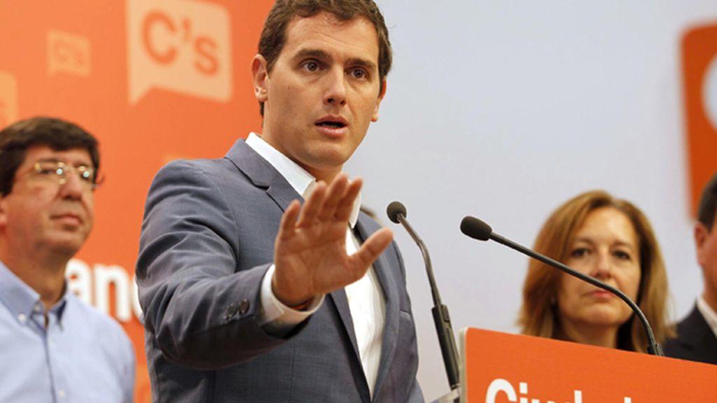 Ciudadanos rechaza el documento del PP y dice que no va a negociar para la investidura