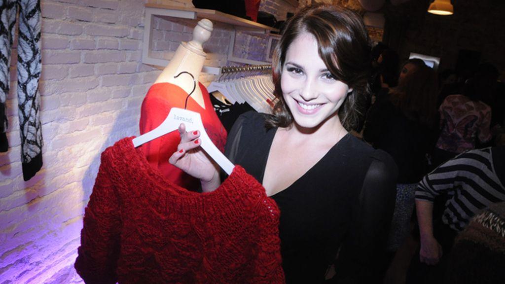 Andrea Duro se mostró ilusionada con su próximo proyecto cinematográfico