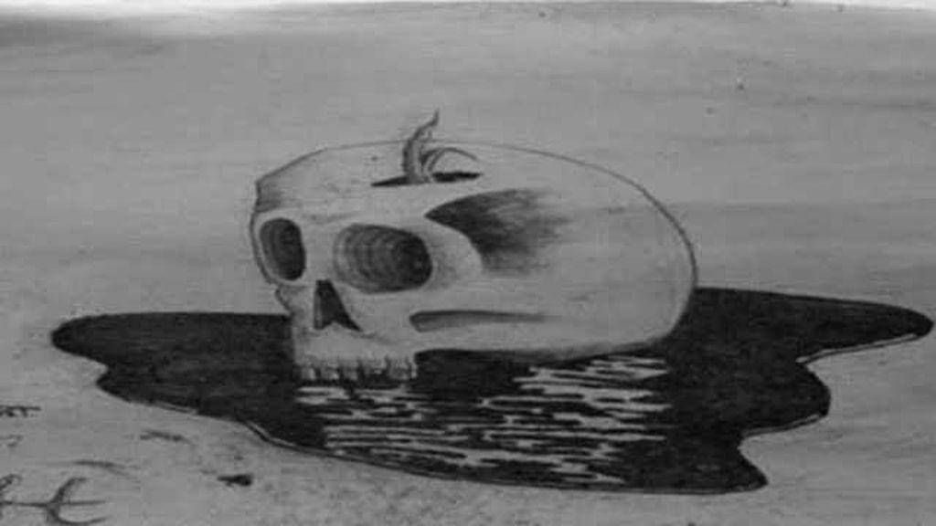 Crea imágenes en 3D solo con la arena de la playa