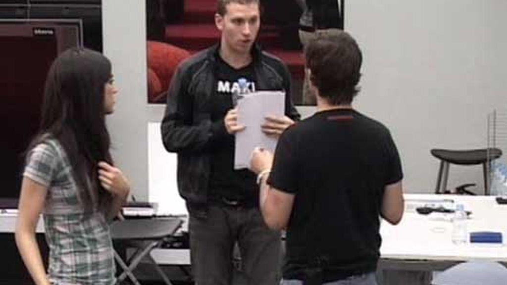 Maxi en la Academia