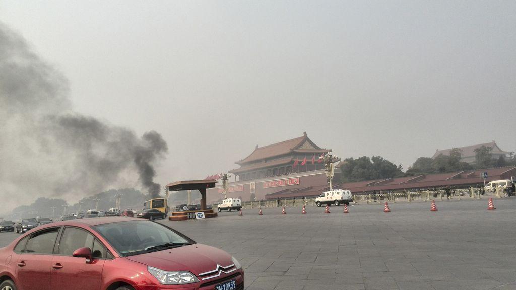 Atentando en Tiananmen