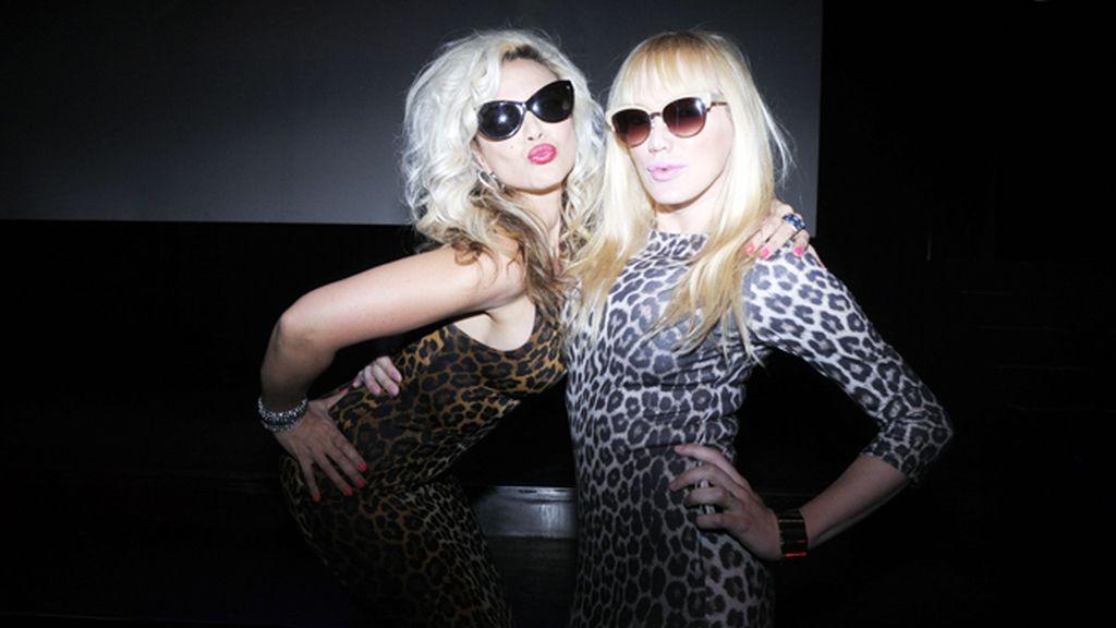 Silvia Superstar y Topacio Fresh apostaron por el print de leopardo para la fiesta