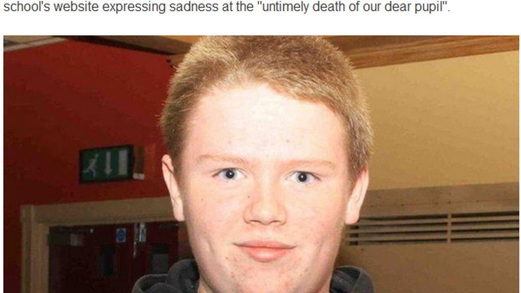 Ronan Hughes, víctima de ciberacoso