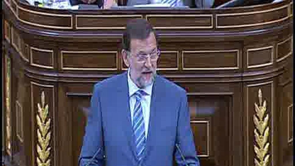 Rajoy reclama la apertura de urnas