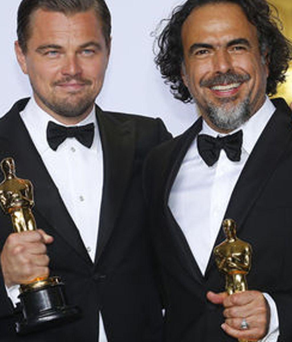 DiCaprio e Iñárritu, premiados por 'El Renacido'