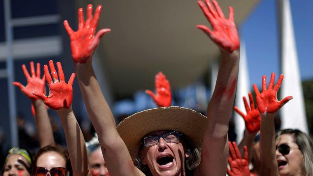 Protestas contra la violencia machista