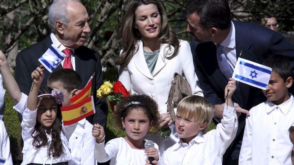 Felipe y Letizia, de visita en Oriente Próximo
