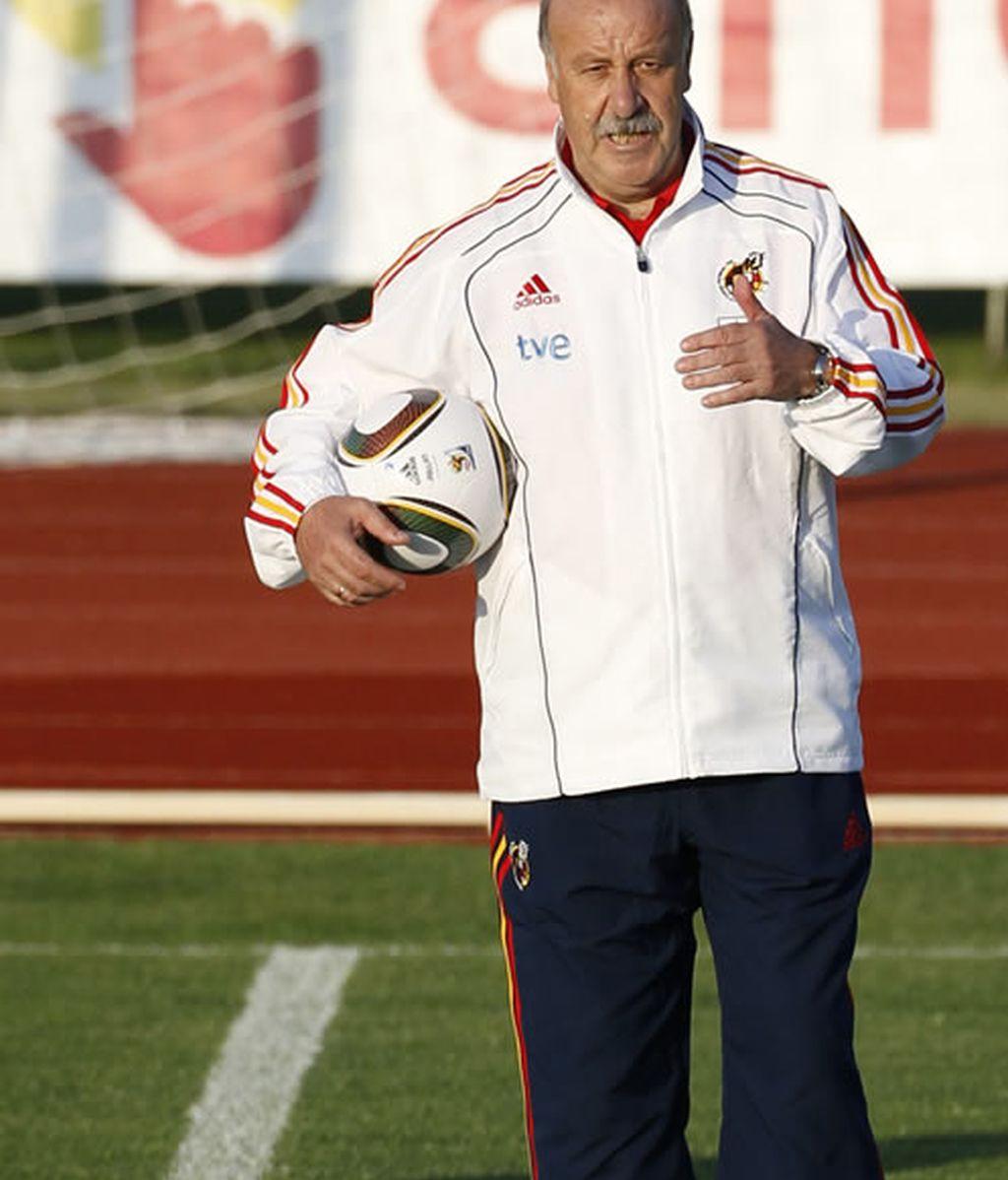 Vicente Del Bosque, seleccionador