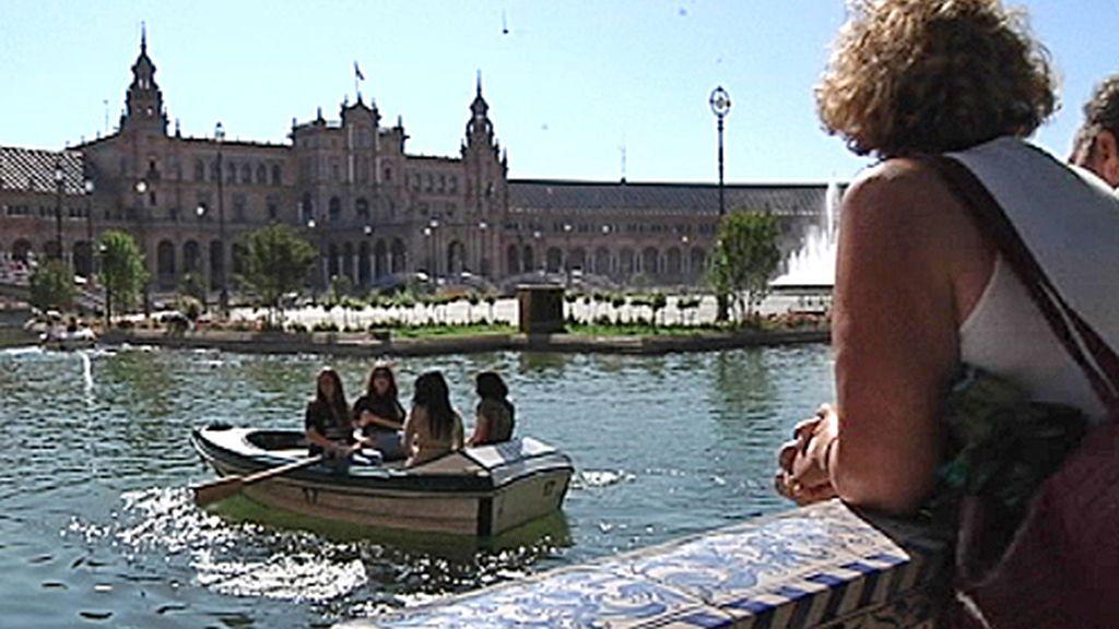Parque de España de Sevilla