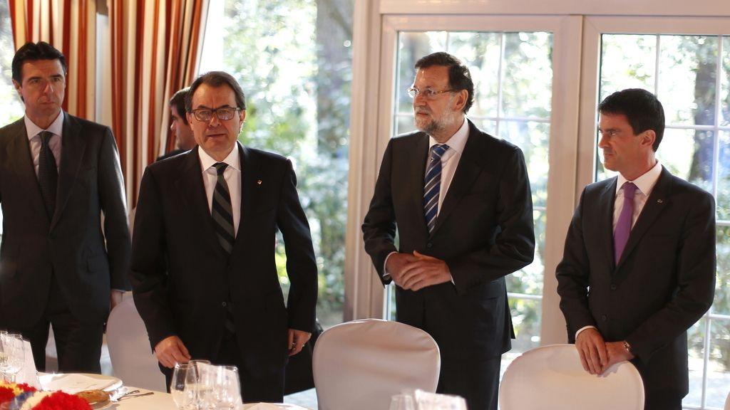 Rajoy y Mas, juntos en Gerona por primera vez en seis meses