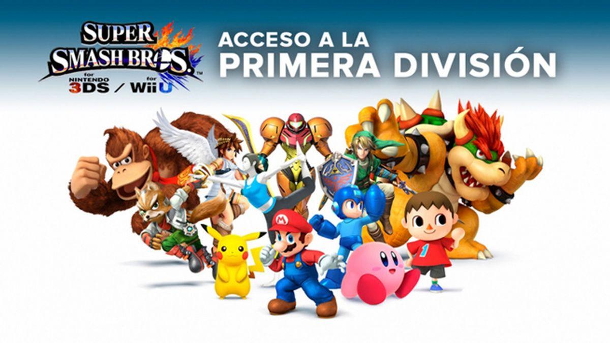 Super Smash Bros, vjuegos, lvp