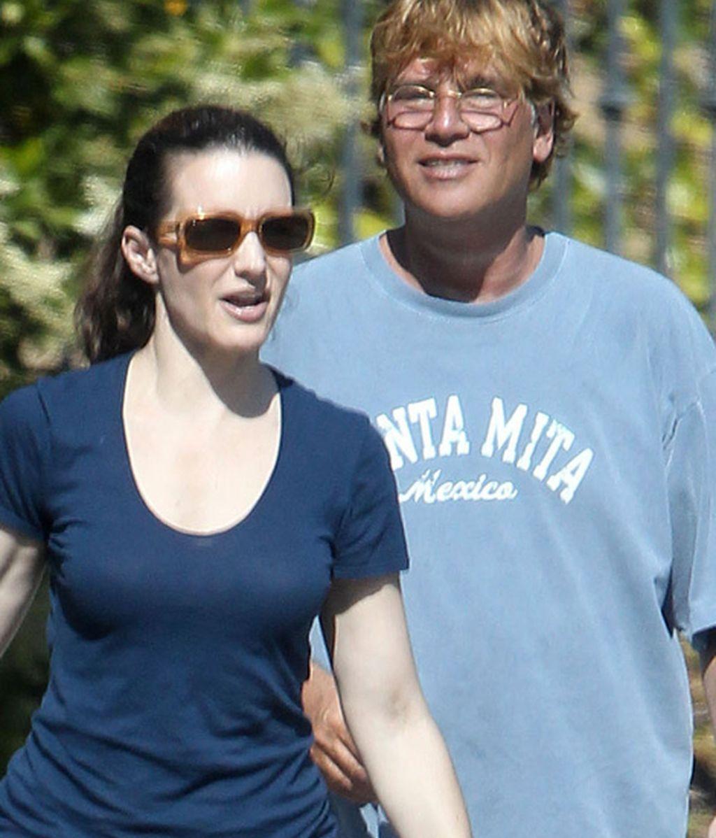 Kristin Davis y Aaron Sorkin