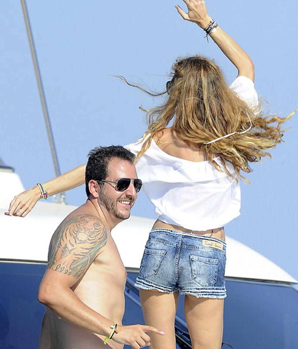 Borja Thyssen y Blanca en Ibiza, felices sin mamá