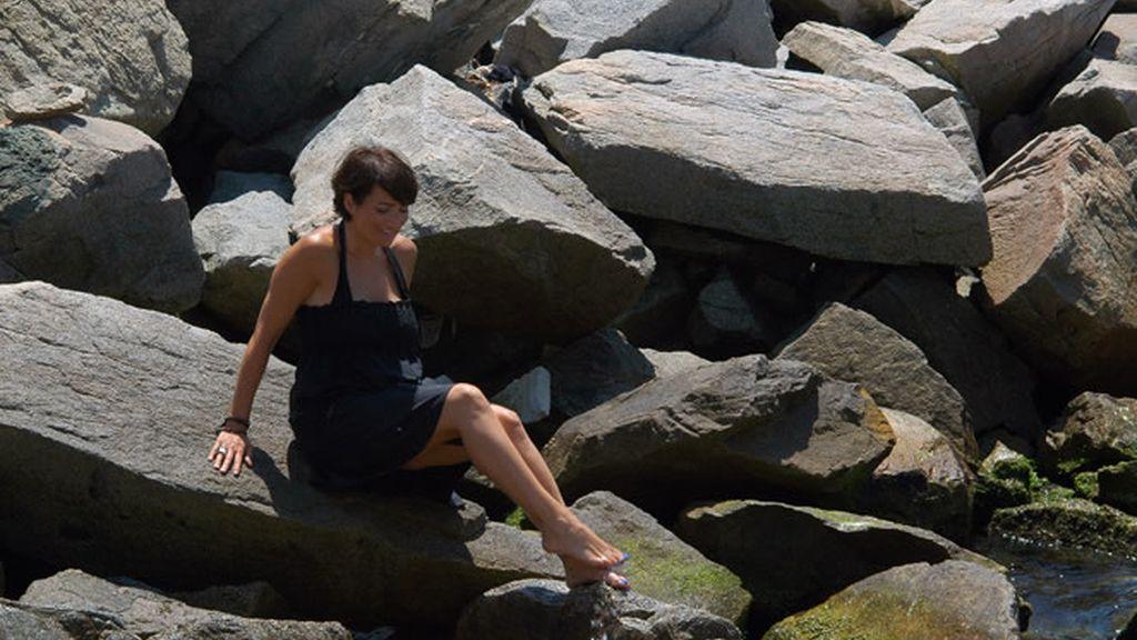 Silvia Abril visita sus lugares más importantes de la costa catalana