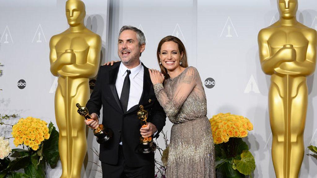 Alfonso Cuarón, mejor director y mejor montaje