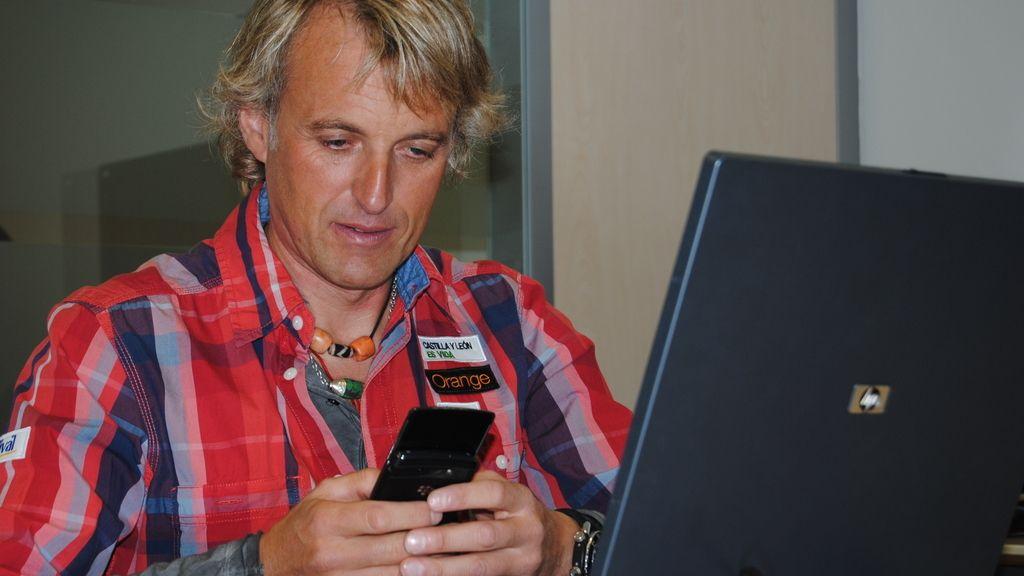Jesús Calleja visita Cuatro.com