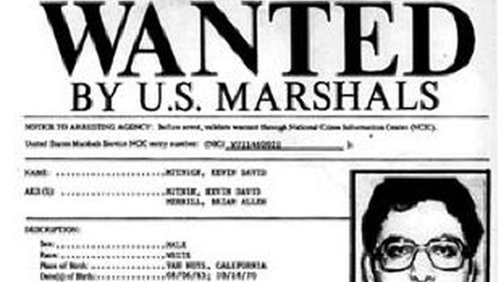 Kevin David Mitnick en los tiempos en que era uno de los hombres más buscados por la policía.