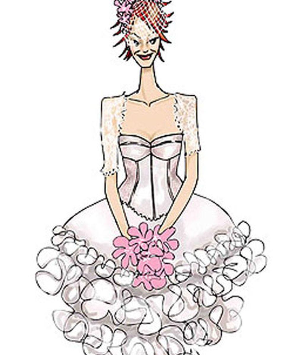Los vestidos de novia de Karmele