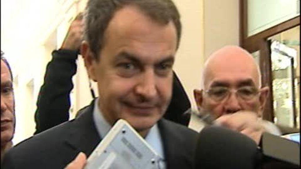 """Zapatero: """"El Gobierno trabaja para garantizar el derecho al trabajo y el derecho a la huelga"""""""