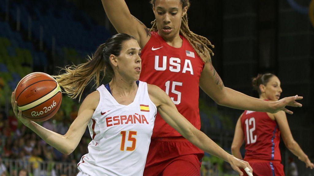 La selección femenina de baloncesto, incapaz de resistir al vendaval de EEUU